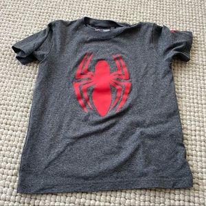 Under Armour marvel Spiderman tshirt